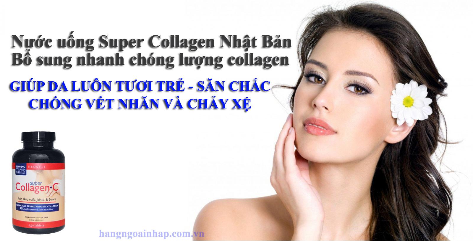 Công dụng tuyệt vời của Super Collagen Nhật Bản