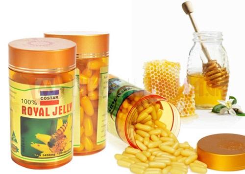 Sữa ong chúa Costar Royal Jelly 1450mg hộp 365 viên của Úc 2