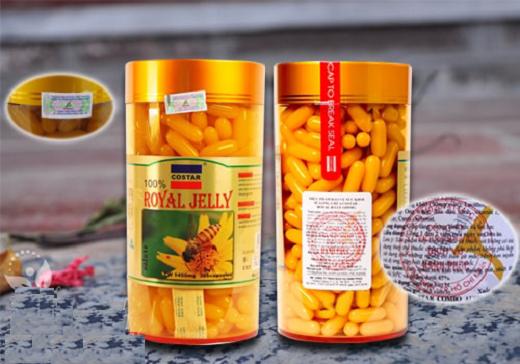 Sữa ong chúa Costar Royal Jelly 1450mg hộp 365 viên của Úc 8