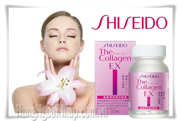 Collagen Shiseido EX Dạng Viên giúp đẹp da