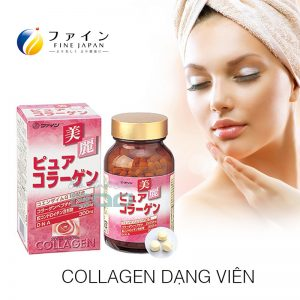 Collagen dang vien Fine Pure