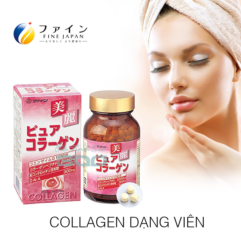 Công dụng của Fine Pure Collagen
