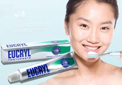 cách dùng kem đánh răng eucryl đạt hiệu quả nhất