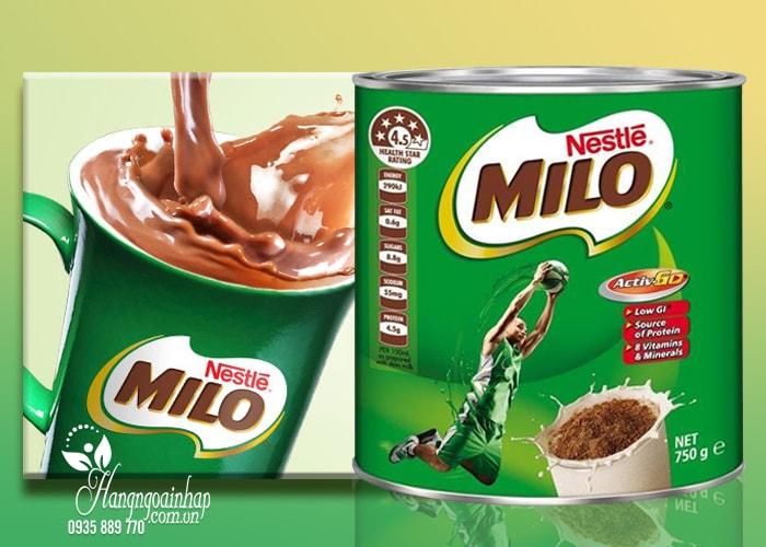 Sữa bột milo úc mua ở đâu uy tín đảm bảo chất lượng