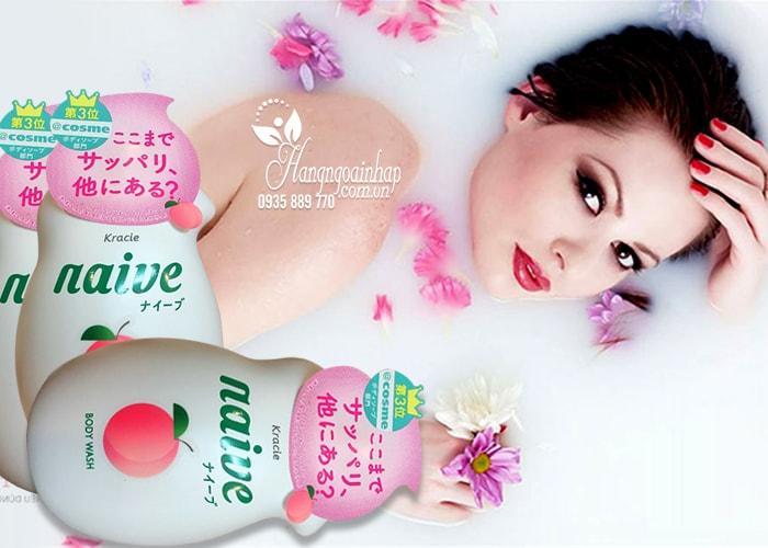 sua-tam-duong-da-kracie-naive-body-wash-530-ml-nhat-ban-3