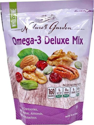 Hạt sấy khô Nature's Garden Omega-3 Deluxe Mix mua ở đâu?