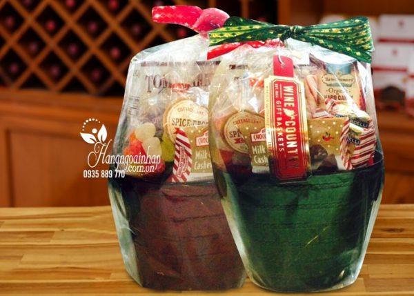 Giỏ quà tết Wine Country Gift Basket của Mỹ Nhân dịp tết Mậu Tuất 2018