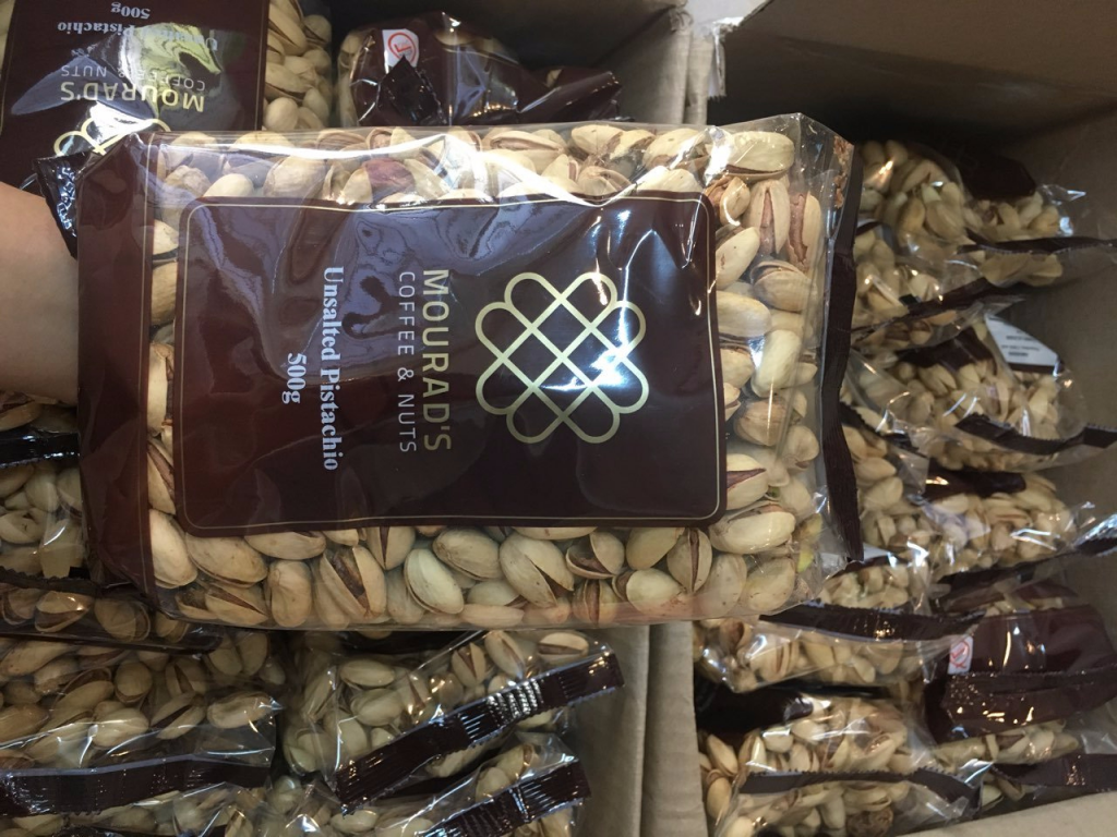 Hạt dẻ Mourad's Nuts & coffee