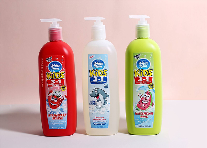 Sữa tắm White Rain Kids dành cho bé có tốt không?