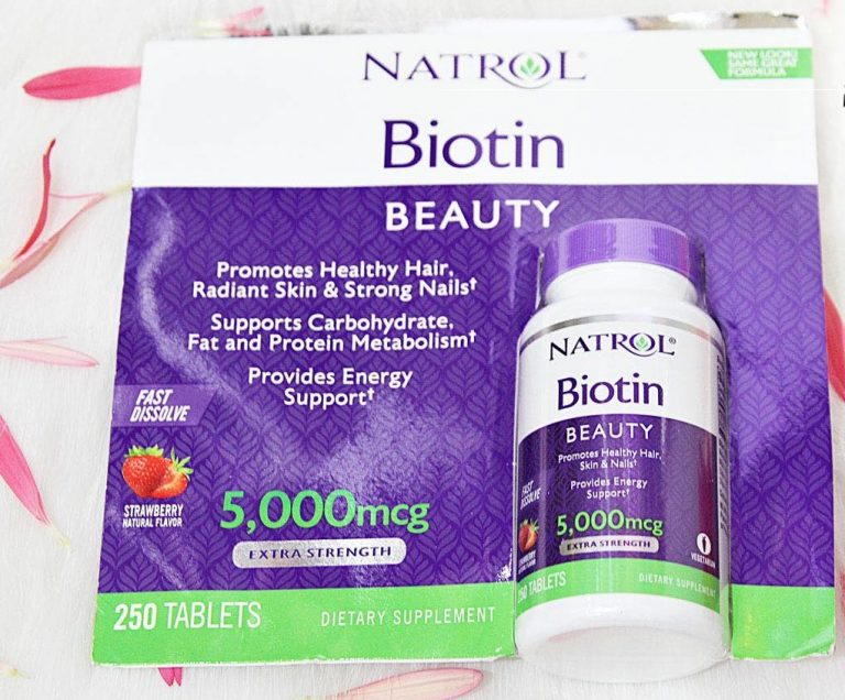 Natrol Biotin Beauty 5000mcg có tốt không? Có tác dụng gì?