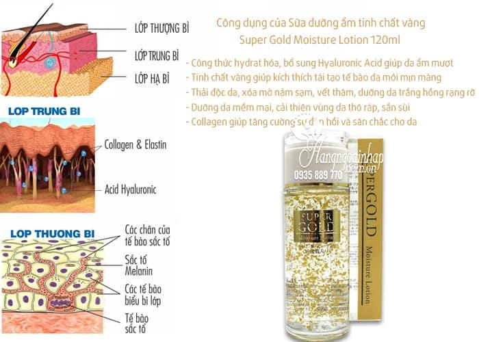 sua-duong-am-tinh-chat-la-vang-super-gold-moisture-lotion-120ml-cua-nhat-ban-2