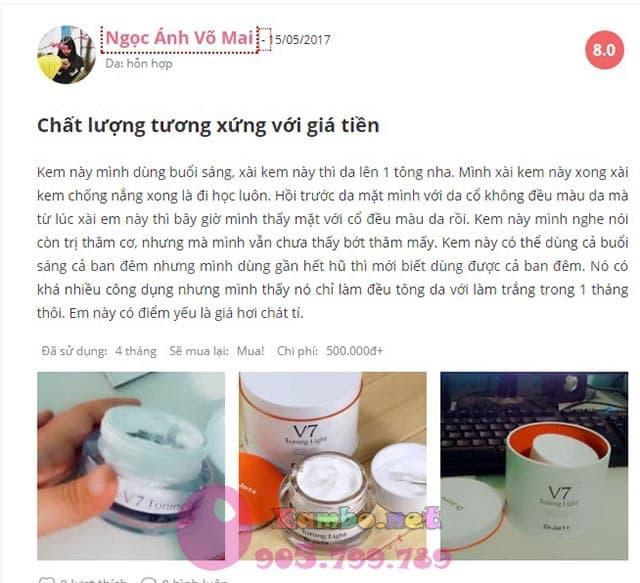 kem-duong-trang-tri-tham-nam-dr-jart-v7-toning-light-review