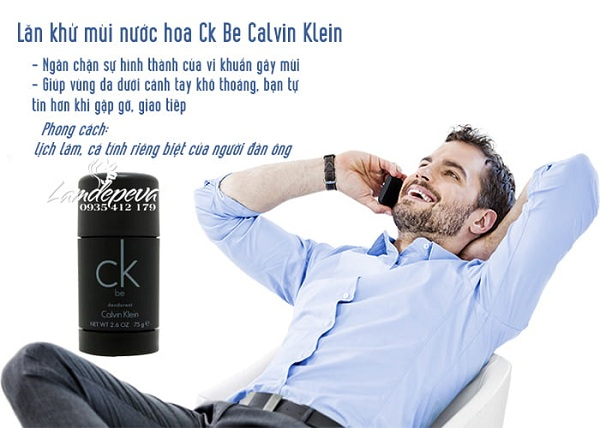 Lăn khử mùi nước hoa Calvin Klein CK Be 2