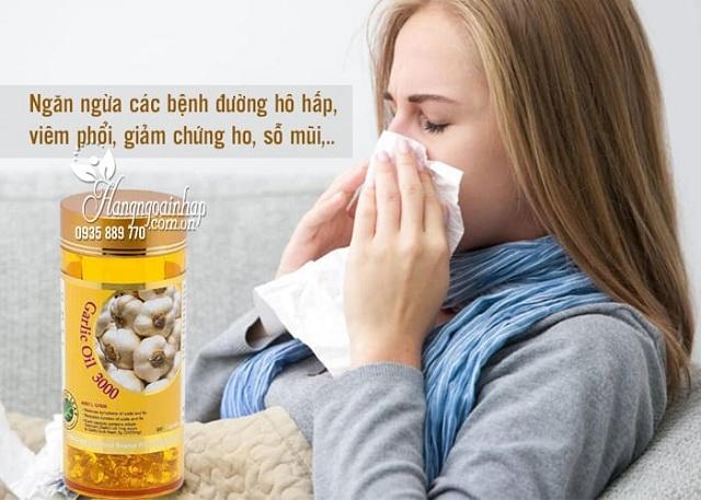 Tinh dầu tỏi Spring Leaf Garlic Oil 3000mg giá tốt nhất thị trường 1