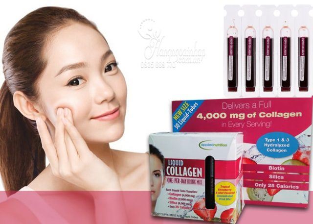 liquid collagen easy to take drink mix 4000mg của Mỹ 1