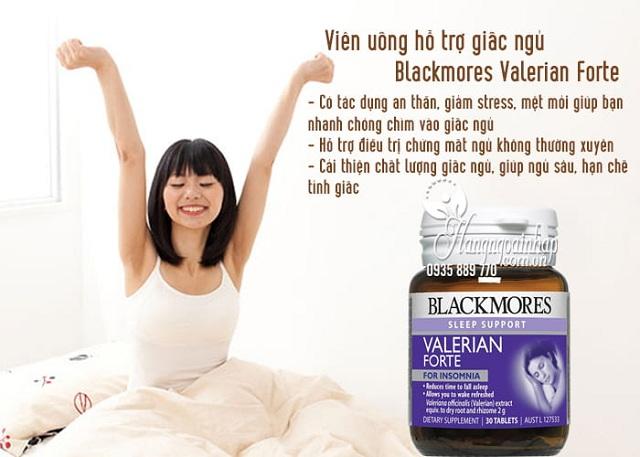 Viên hỗ trợ giấc ngủ Blackmores Valerian Forte 2000mg của Úc 3