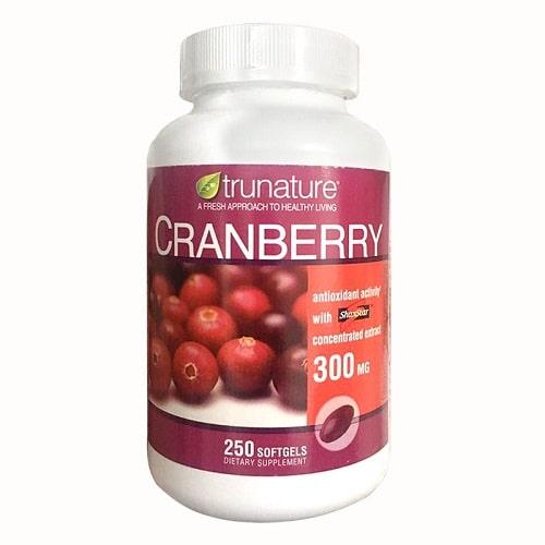 Viên uống nam việt quất Trunature Cranberry của Mỹ có tốt không-2