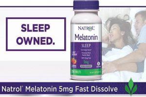 Viên ngậm Natrol Melatonin 5mg có tốt không-1
