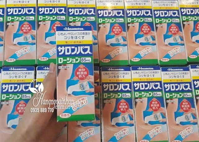 Chai lăn xoa bóp Hisamitsu 85ml Nhật Bản, giảm đau xương khớp