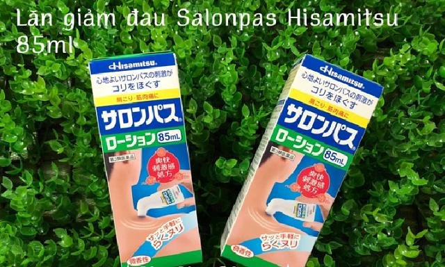 Chai lăn xoa bóp Hisamitsu 85ml Nhật Bản, giảm đau xương khớp 1