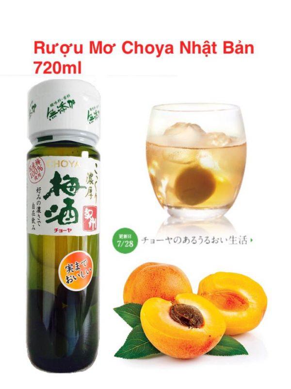 Rượu mơ Choya umeshu