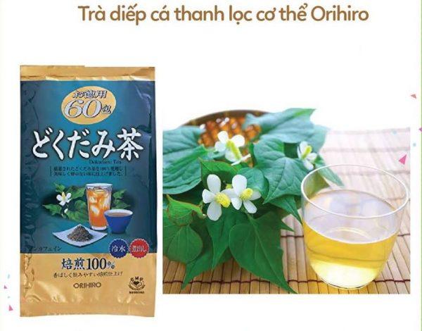Trà diếp cá orihiro có tốt không? Review từ một số chuyên gia