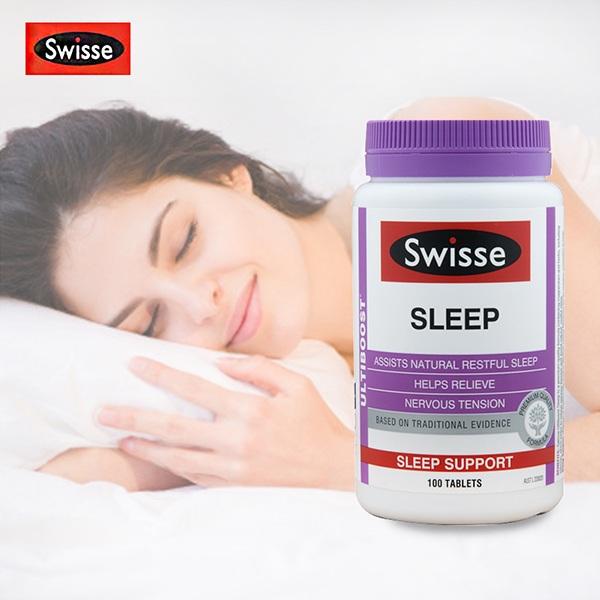 Viên uống hỗ trợ giấc ngủ Swisse Sleep 100 viên của Úc 1