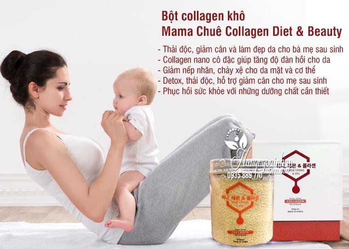 Bột collagen khô Mama Chuê Collagen Diet & Beauty Hàn Quốc 2