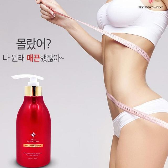 Gel tan mỡ Bulgama Cream 350ml của Hàn Quốc 3