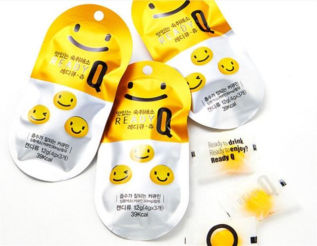 Kẹo giải rượu Ready Q Korea hộp 10 gói giá tốt nhất từ đại lý 1