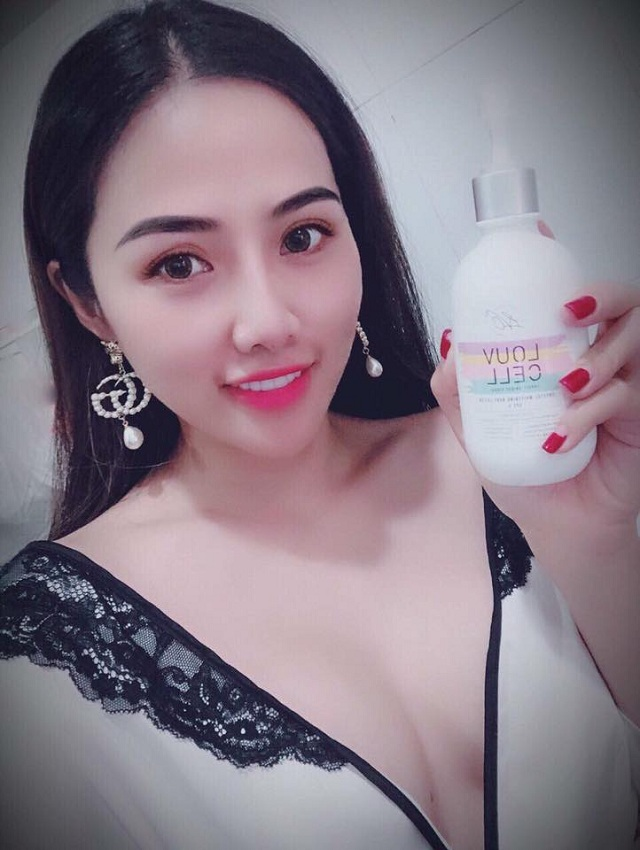 Lotion dưỡng trắng toàn thân Louv Cell của Hàn Quốc 3