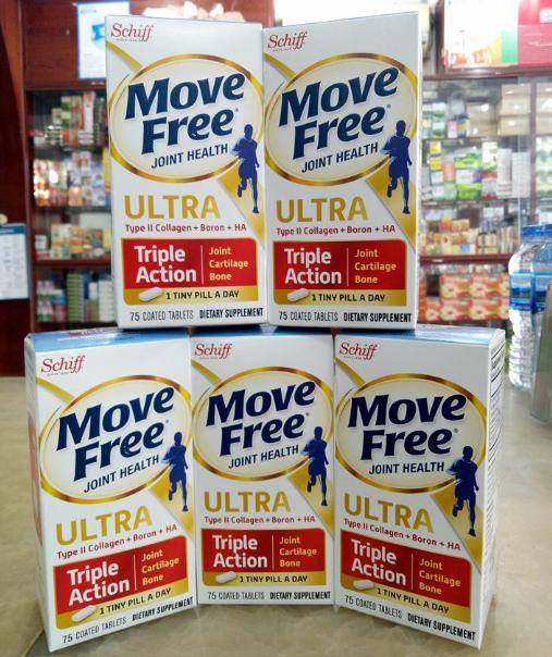 Viên uống Move Free Ultra Triple Action 75 viên hỗ trợ xương khớp 1