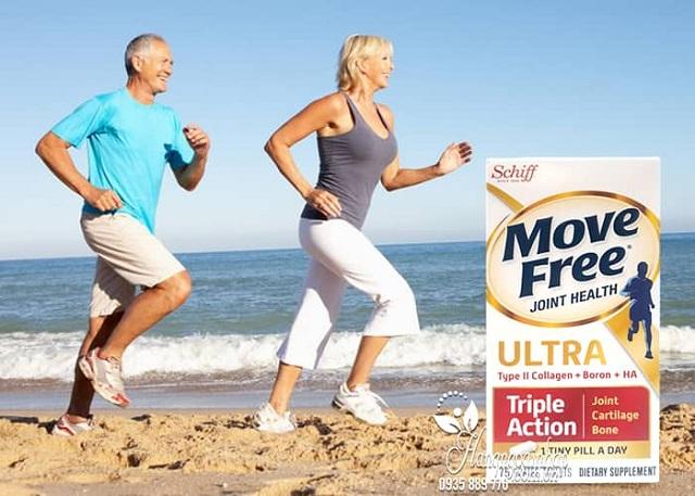 Viên uống Move Free Ultra Triple Action 75 viên hỗ trợ xương khớp 2