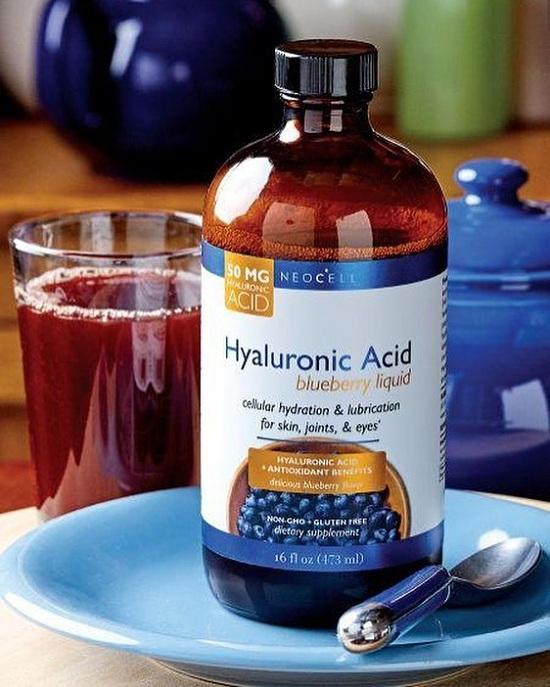Tinh chất nước việt quất Neocell Hyaluronic Acid Blueberry Liquid 1