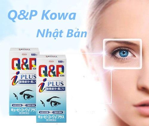 Viên uống bổ mắt Q&P Kowa i Plus có tốt không?