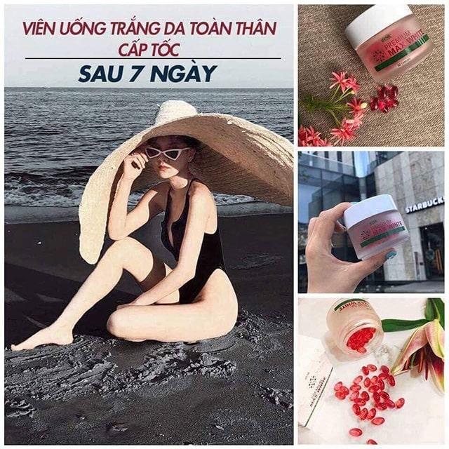 TRẮNG SÁNG MỊN MÀNG - DETOX TỪ TRONG RA NGOÀI