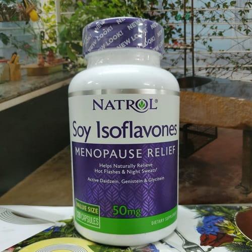 Viên uống Natrol Soy Isoflavones có tốt không-2