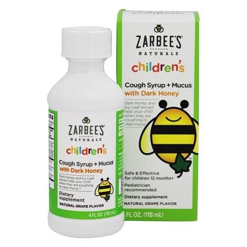 Siro trị ho Zarbees Naturals Childrens có tốt không-2