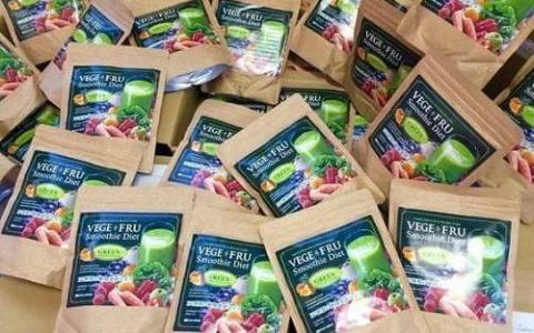 Bột rau củ quả Vege Fru Smoothie Diet có tốt không?