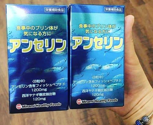 Thuốc trị gout Anserine Minami sử dụng như thế nào-3