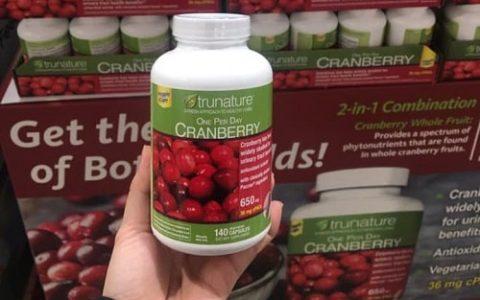 Viên uống Trunature Cranberry 650mg có tốt không?