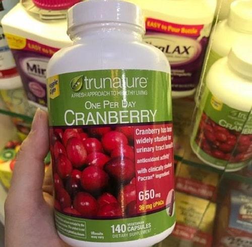Viên uống Trunature Cranberry 650mg có tốt không-3