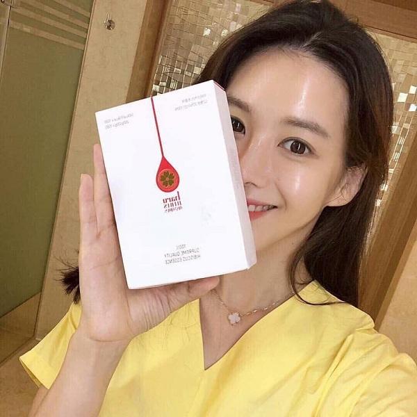 Nước uống hoa dâm bụt Haru Hibiscus - Trà giảm cân Hàn Quốc 5