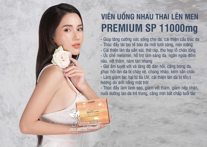 Nhau thai lên men Premium SP 11000mg Nhật Bản 120 viên 4