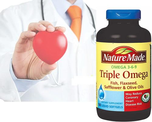 Triple Omega 3 6 9 Nature Made của Mỹ có tốt không-3