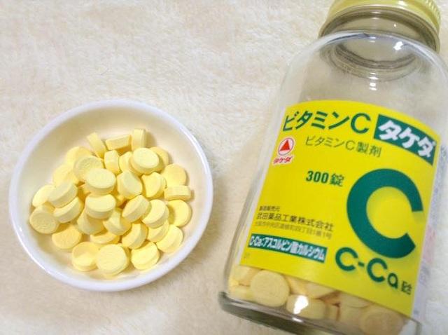 Viên uống Vitamin C 2000mg Takeda 300 viên, trị nám trắng da 1