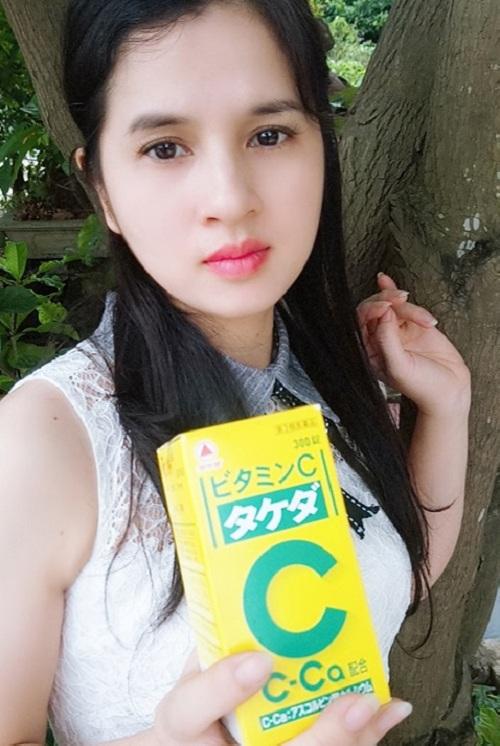 Viên uống Vitamin C 2000mg Takeda 300 viên, trị nám trắng da 2
