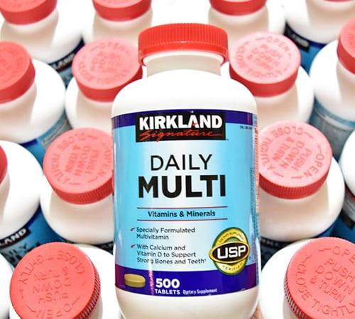 Viên uống vitamin Daily Multi Kirkland có tốt không-3