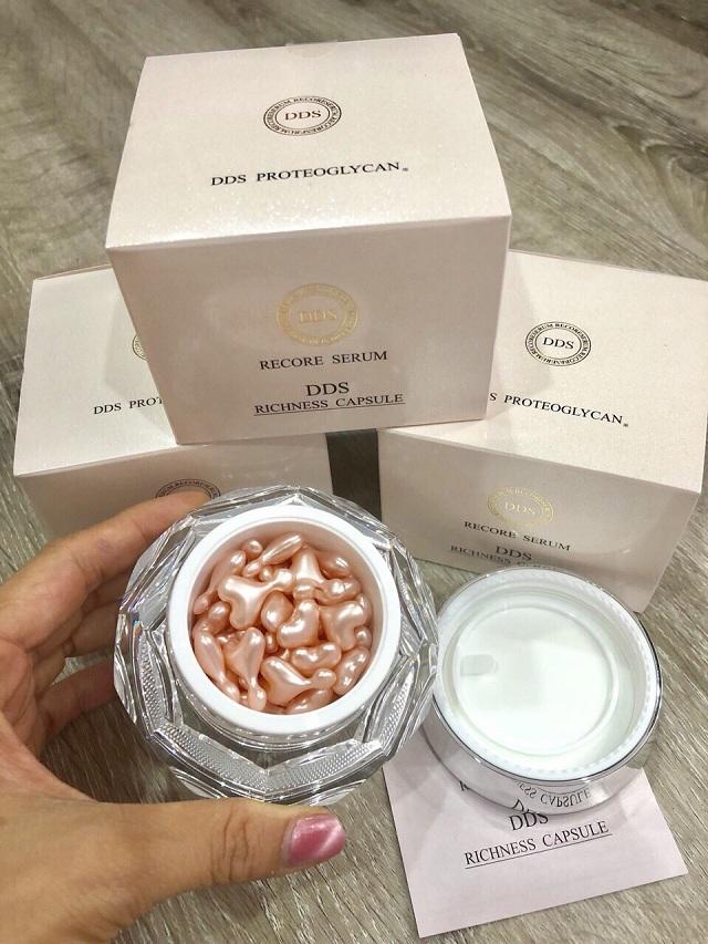 Serum sụn mũi cá hồi Nhật Bản DDS Richness Capsule Nhật 3