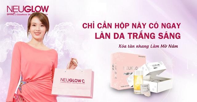 Viên sủi trắng da Neuglow C Premium White hộp 28 viên 2